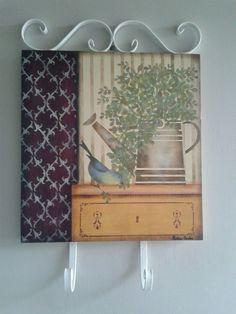 Placa Decorativa Regador