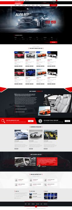 CarWorld - Car Dealer & Auo Repair PSD Template • Download ➝ https://themeforest.net/item/carworld-car-dealer-auo-repair-psd-template/18291953?ref=pxcr
