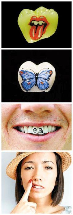 Teeth Tatoo!