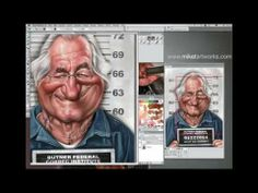 Illustration Workspace for Corel® Painter™ 12 by Painter Master Mike Thompson - Part 1 - YouTube