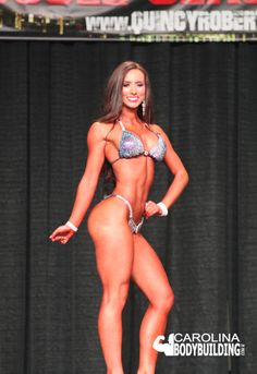 Stage Photo of Bikini Competitor 2018 North Carolina NPC 2018 NPC Elite Muscle Bikini Competitor Bodybuilding Show Bikini Competitor, Npc Bikini, Bodybuilding Workouts, Bikini Girls, Physique, North Carolina, Bikinis, Swimwear, Athlete