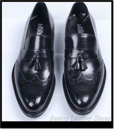 Men Dress shoes set foot slip on black men business shoes oxfords genuine leather man leather shoes