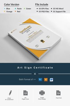 This certificate is specially designed. All organizations can use this certificate. 3 software used here The original file contains 15 PSD templates, 5 PSD, 5 Certificate Of Appreciation, Certificate Of Achievement, Award Certificates, Certificate Templates, Tooth Fairy Certificate, Psd Templates, Art Template, Printing Companies, All Paper