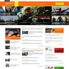 CityMagazine is the magazine joomla! It's provide multicolumn layout. Responsive with your browser and device. You can build your awesome magazine with Joomla Themes, Web Themes, Typography Design Layout, Layout Design, Health World, The Creator, Entertaining, Magazine, Words