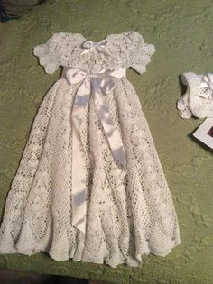 Heirloom Vintage Style Christening Gown  | Craftsy