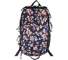 a920b6c376 Vera Bradley Journey Lighten Up Travel Backpack