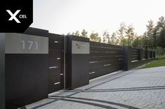 Home Gate Design, House Fence Design, Two Story House Design, Steel Gate Design, Front Gate Design, Main Gate Design, Gate Designs Modern, Modern Fence Design, Modern Entrance