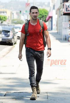 Has Shia LaBeouf Made A Permanent Lifestyle Change? His Latest Sighting Sure Looks Like It!