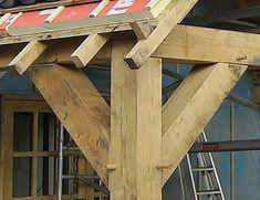 Voorbeeld project: Maatwerk tuinhuis in eikenhout - Van Aarle Houtbedrijf B.V. - Van Aarle Houtbedrijf B.V.