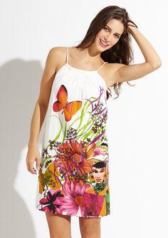 DESIGUAL              Gathered Neck Dress