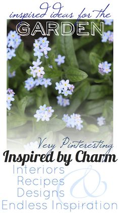 Very Pinteresting {Ideas for the Garden} - Inspired by Charm