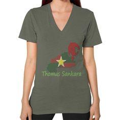 Thomas Sankara V-Neck Women's