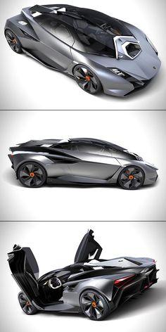 Lamborghini Perdigon Unveiled, is Jet Fighter-Inspired