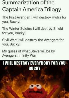 My I be fair, Tony destroys stuff/relationships without anybody asking him to