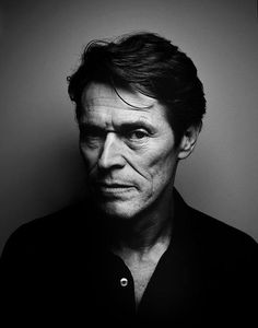 Willem Dafoe / Actor / Black & White Photography by Patrick Swric Foto Portrait, Portrait Photography, Black And White Portraits, Black And White Photography, Willem Dafoe, Actrices Hollywood, Celebrity Portraits, Celebrity Photography, Interesting Faces