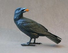 Jim Eppler is an artist in Santa Fe known for his beautiful bronze ravens.