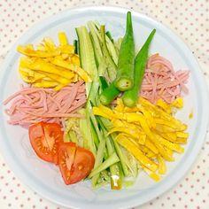 初のマルちゃん製麺冷 - 5件のもぐもぐ - おうちで冷やし中華 by murayamaai8ly