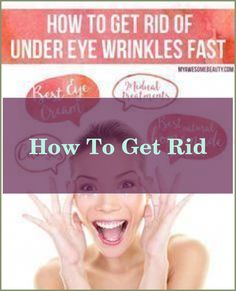Don't know how to get rid of forehead wrinkles? You are not alone. Millions of people older than 40 consider this to be their monumental skin problem.... Under Eye Wrinkles, Face Wrinkles, Prevent Wrinkles, Best Foundation, Skin Problems, Anti Wrinkle, Eyes, People, Folk