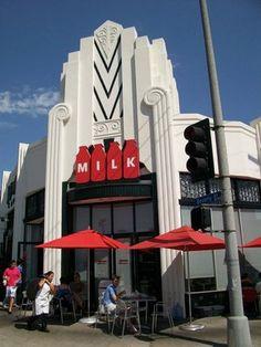 Milk. 7290 Beverly Blvd. Los Angeles, CA 90036.