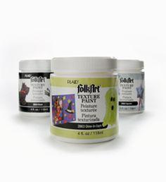 FolkArt ® Texture Paint - 4 oz.