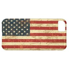 Grungy American Flag iPhone 5C Case