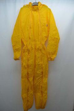 K WAY Kway Combinaison Jaune Impermeable Nylon Pluie Taille 38 T38 M | eBay