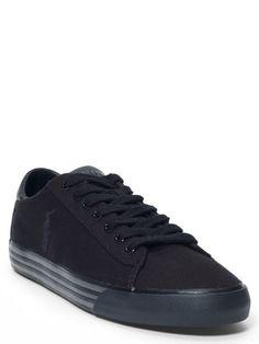 93ef75c6b38db Harvey Canvas Sneaker - Polo Ralph Lauren Sneakers - RalphLauren.com