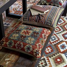 Bohemian patterns making it a great interior design option for a rich and heady space full of visual interest and a.