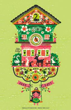Art and Illustration by Tara Lilly Studio: Artists Around the World Blog Hop!