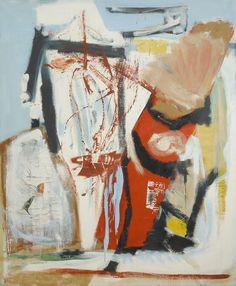Peter Lanyon - Saracinesco (1961)  Oil on canvas 122 x 183 cm