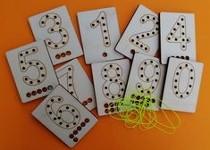Kartičky s čísly
