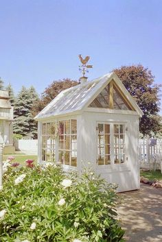 Garden Shed by Calico Apron on Flickr..