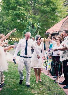 Alixann Loosle Photography: Sarah + Jake Wedding (Exit dress!)