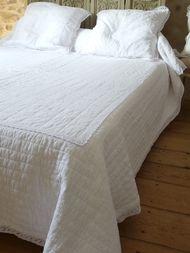 Les Couvre Lit Boutis Avec Deux Taies Assorties Pour Lit 160 Cm Grandes Tailles Couvre Lit Blanc Couvre Lit Boutis Et Couvre Lit