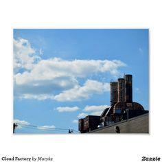 Cloud Factory Poster