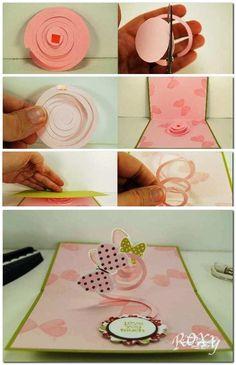 idea para hacer una espiral saltador para poner en vuestras tarjetas o donde se os ocurra.