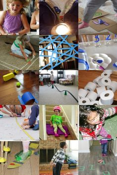 Check out these fun indoor activities for kids to do when they're stuck inside. Plenty of indoor games for the kids to play and have fun inside. Fun Indoor Activities, Indoor Activities For Kids, Summer Activities, Toddler Activities, Inside Games, Entertainment Center Decor, Cool Kids, Kids Fun, Kids Camp