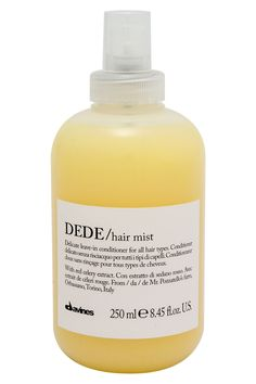 10 best leave in conditioners for your hair type: DEDE hair lightweight spray Leave In Conditioner, Hair Conditioner, Shimmer Eye Makeup, Hair Mist, Coconut Oil Hair Mask, Celebrity Hair Stylist, Stunning Eyes, Beautiful, Curls