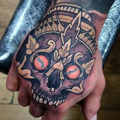 Not the greatest photo but today's hand job on luke! Thanks mate! #tattoo…