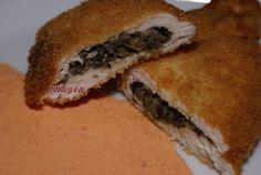 Pollo relleno de Tapenade