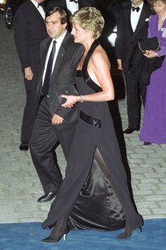 Princess Diana in Catherine Walker - UNESCO charity dinner @ Palace of Versailles - November 1994