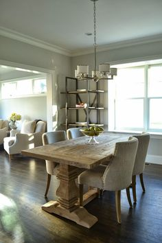 Here are the Rustic Farmhouse Dining Room Design Ideas. This article about Rustic Farmhouse Dining Room Design Ideas was posted under the Dining Room category by our team at August 2019 at am. Hope you enjoy it and . Decor, Room Makeover, Farmhouse Dining, Interior, Dining Room Makeover, Home, Dining Room Design, Farmhouse Table Plans, Farmhouse Table
