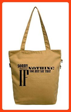 Vietsbay Women Life Quotes-31 Printed Fashion Cotton Canvas Tote Bag WAS_40 (*Partner Link)