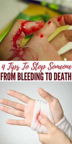 4 Tips To Stop Someone From Bleeding To Death - Learning the tips in this article is well worth your while. They don't take a long time to learn, yet they could save someone's life one day. It would be a shame for someone to bleed out when it would have been so easy to save them.