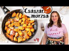 Eredeti osztrák császármorzsa recept - YouTube