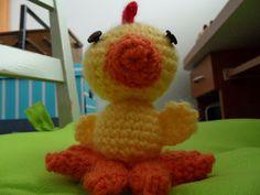 a baby chicken by Käsintehtyä blogger