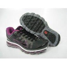 best website 14494 c5a3c Femme Nike Air Max 2009 Netty Noir Violet