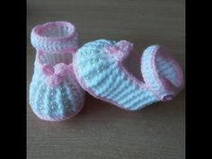 DIY, Como hacer unos zapatitos de bebe/ Baby shoes /cucaditasdesaluta - YouTube