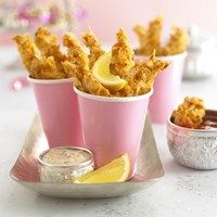 Annabel Karmel's Krispie fish fingers These teatime favourites are perfect for fussy eaters