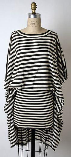 Dress Designer: Issey Miyake (Japanese, born 1938) Design House: Miyake Design Studio (Japanese) Date: 1985 Culture: Japanese Medium: cotton